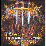 Power, Pain & Passion (Ten Years 1990-2000) by Mortification